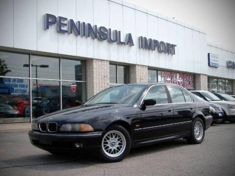 2000 BMW 5 Series for sale at Peninsula Motor Vehicle Group in Oakville Ontario NY