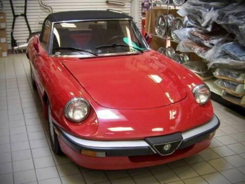 1986 Alfa Romeo Spider for sale at Peninsula Motor Vehicle Group in Oakville Ontario NY