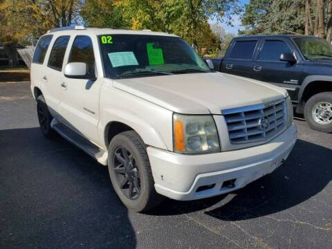2002 Cadillac Escalade for sale at Stach Auto in Edgerton WI