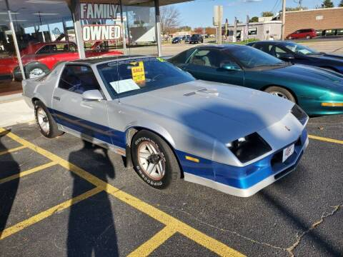 1982 Chevrolet Camaro for sale at Stach Auto in Edgerton WI