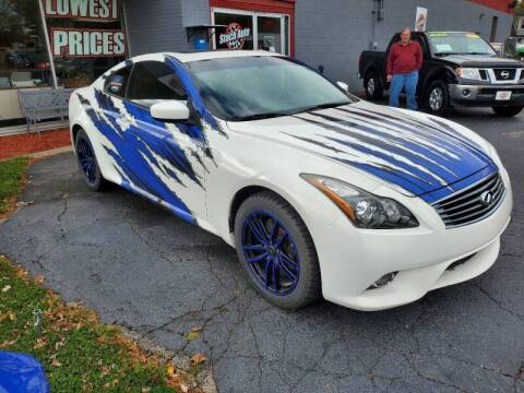 2014 Infiniti Q60 Coupe for sale at Stach Auto in Edgerton WI