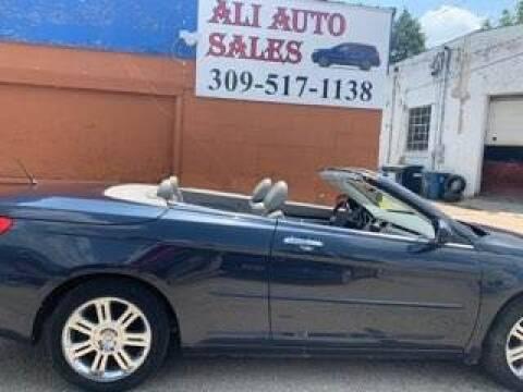 2008 Chrysler Sebring for sale at Ali Auto Sales in Moline IL
