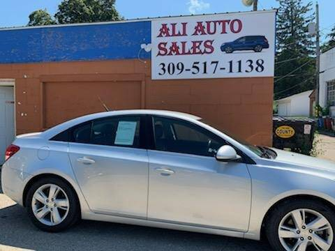 2014 Chevrolet Cruze for sale at Ali Auto Sales in Moline IL