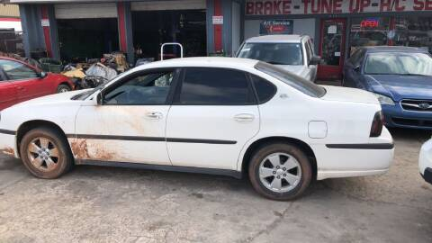 2005 Chevrolet Impala for sale at A BOTTOM DOLLAR AUTO SALES in Shawnee OK