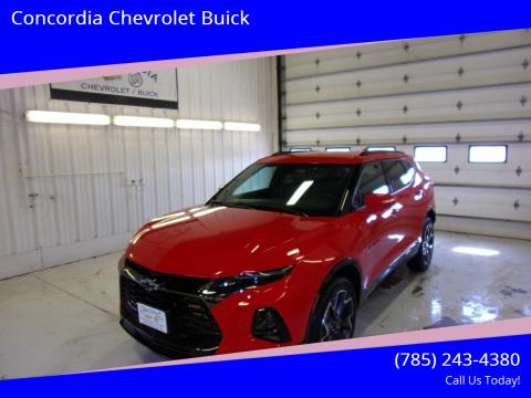 2020 Chevrolet Blazer for sale at Concordia Chevrolet Buick in Concordia KS