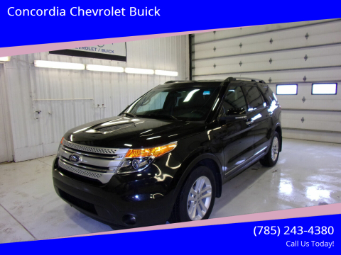 2015 Ford Explorer for sale at Concordia Chevrolet Buick in Concordia KS