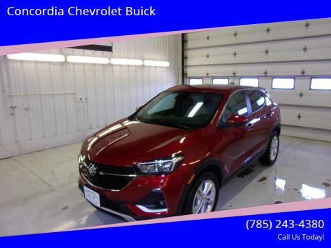 2020 Buick Encore GX for sale at Concordia Chevrolet Buick in Concordia KS