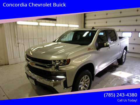 2020 Chevrolet Silverado 1500 for sale at Concordia Chevrolet Buick in Concordia KS