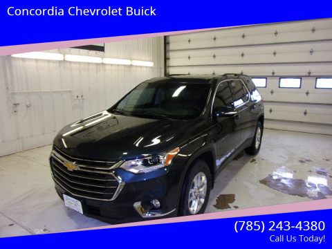 2019 Chevrolet Traverse for sale at Concordia Chevrolet Buick in Concordia KS