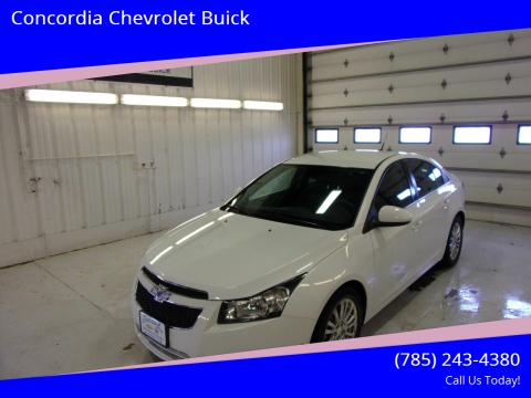 2013 Chevrolet Cruze for sale at Concordia Chevrolet Buick in Concordia KS