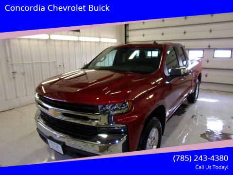 2019 Chevrolet Silverado 1500 for sale at Concordia Chevrolet Buick in Concordia KS