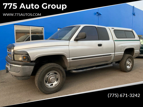 2001 Dodge Ram Pickup 2500 for sale at 775 Auto Group in Carson City NV