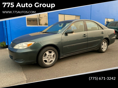 2002 Toyota Camry for sale at 775 Auto Group in Carson City NV