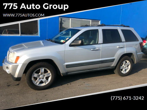 2006 Jeep Grand Cherokee for sale at 775 Auto Group in Carson City NV