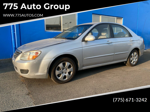 2008 Kia Spectra for sale at 775 Auto Group in Carson City NV