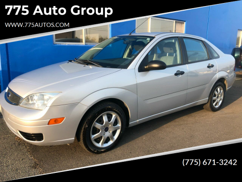 2005 Ford Focus for sale at 775 Auto Group in Carson City NV