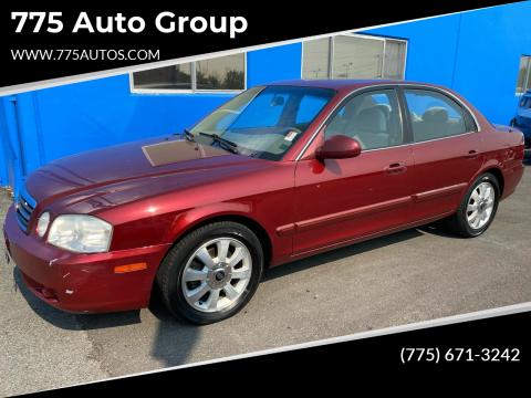 2006 Kia Optima for sale at 775 Auto Group in Carson City NV