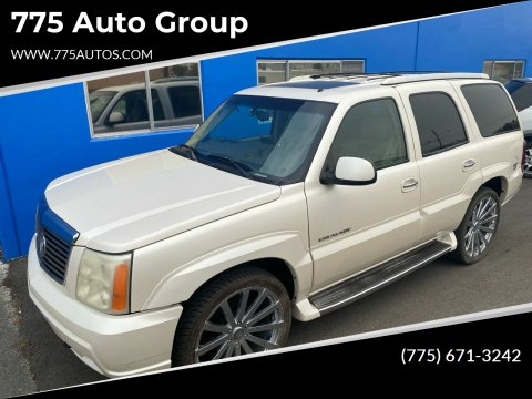 2002 Cadillac Escalade for sale at 775 Auto Group in Carson City NV