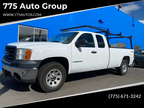 2007 GMC Sierra 1500 for sale at 775 Auto Group in Carson City NV