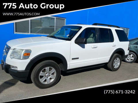 2007 Ford Explorer for sale at 775 Auto Group in Carson City NV