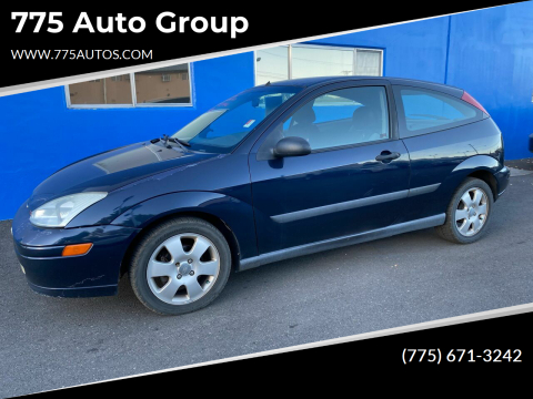 2002 Ford Focus for sale at 775 Auto Group in Carson City NV