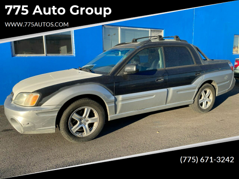 2003 Subaru Baja for sale at 775 Auto Group in Carson City NV
