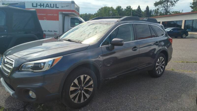 2015 Subaru Outback for sale at Pepp Motors in Marquette MI