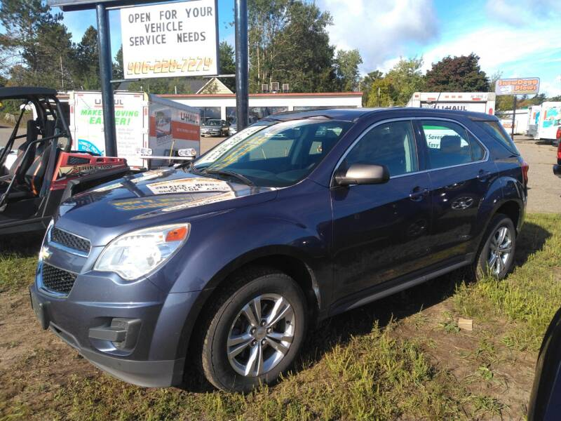 2013 Chevrolet Equinox for sale at Pepp Motors in Marquette MI