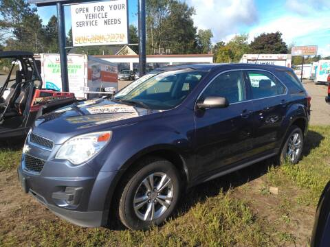 2013 Chevrolet Equinox for sale at Pepp Motors in Marquette MI