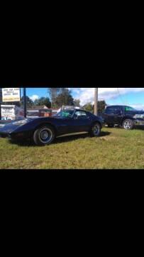 1974 Chevrolet Corvette for sale at Pepp Motors in Marquette MI