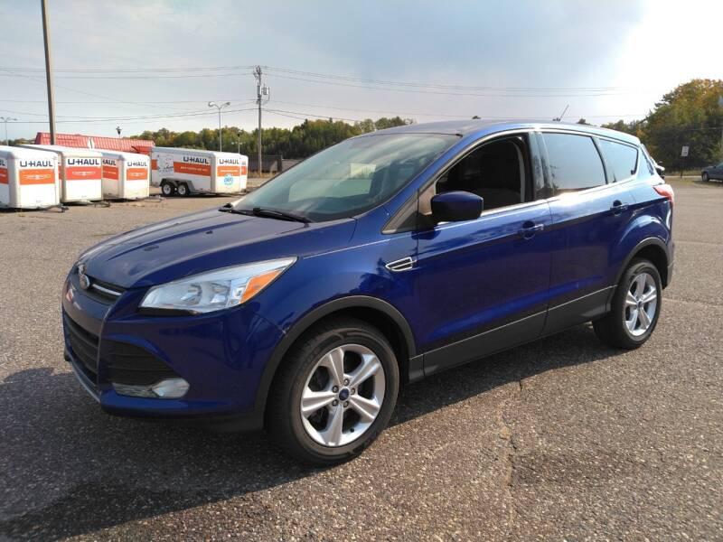 2013 Ford Escape for sale at Pepp Motors in Marquette MI