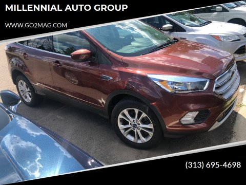 2018 Ford Escape for sale at MILLENNIAL AUTO GROUP in Farmington Hills MI