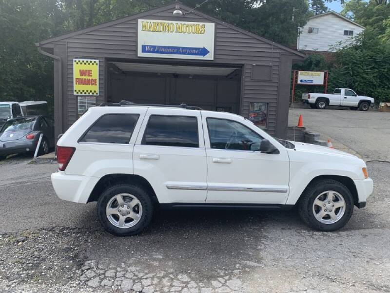 2007 Jeep Grand Cherokee for sale at Martino Motors in Pittsburgh PA