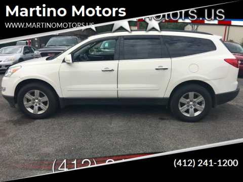 2012 Chevrolet Traverse for sale at Martino Motors in Pittsburgh PA