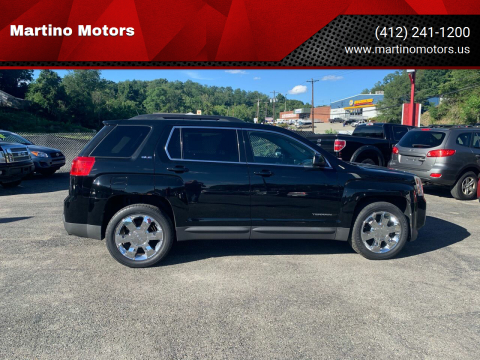 2011 GMC Terrain for sale at Martino Motors in Pittsburgh PA