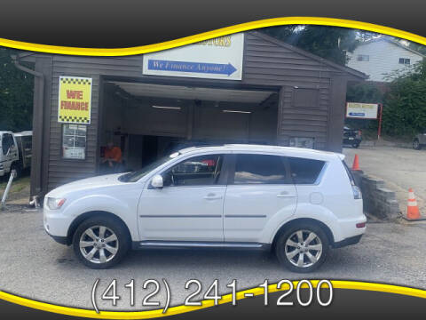 2010 Mitsubishi Outlander for sale at Martino Motors in Pittsburgh PA