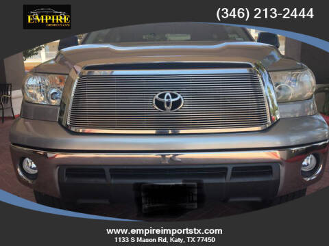 2013 Toyota Tundra for sale at EMPIREIMPORTSTX.COM in Katy TX