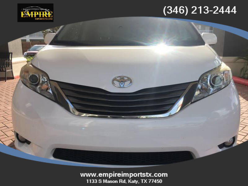 2013 Toyota Sienna for sale at EMPIREIMPORTSTX.COM in Katy TX