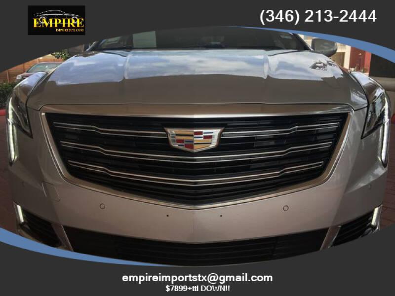 2018 Cadillac XTS for sale at EMPIREIMPORTSTX.COM in Katy TX