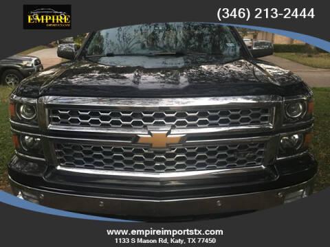 2014 Chevrolet Silverado 1500 for sale at EMPIREIMPORTSTX.COM in Katy TX