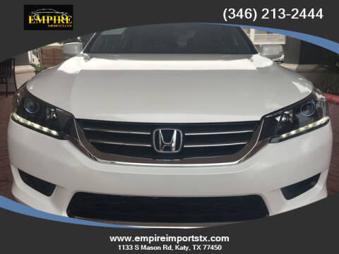 2015 Honda Accord Hybrid for sale at EMPIREIMPORTSTX.COM in Katy TX