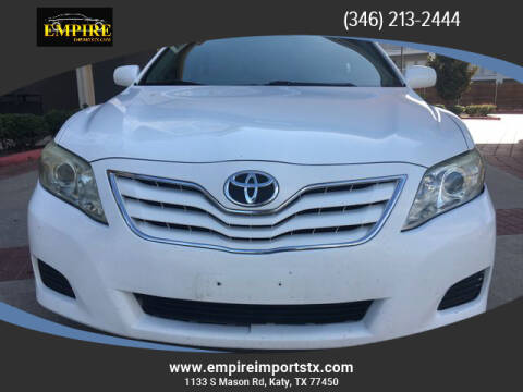 2011 Toyota Camry for sale at EMPIREIMPORTSTX.COM in Katy TX