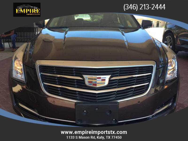 2015 Cadillac ATS for sale at EMPIREIMPORTSTX.COM in Katy TX