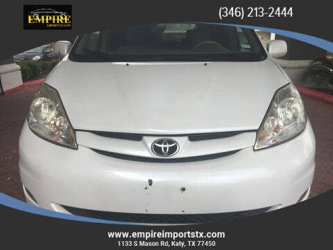 2008 Toyota Sienna for sale at EMPIREIMPORTSTX.COM in Katy TX
