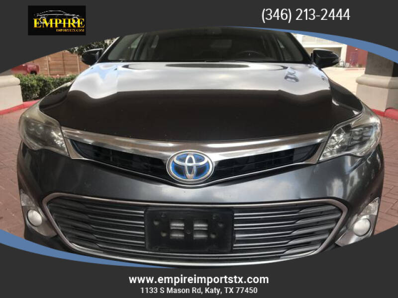 2013 Toyota Avalon Hybrid for sale at EMPIREIMPORTSTX.COM in Katy TX