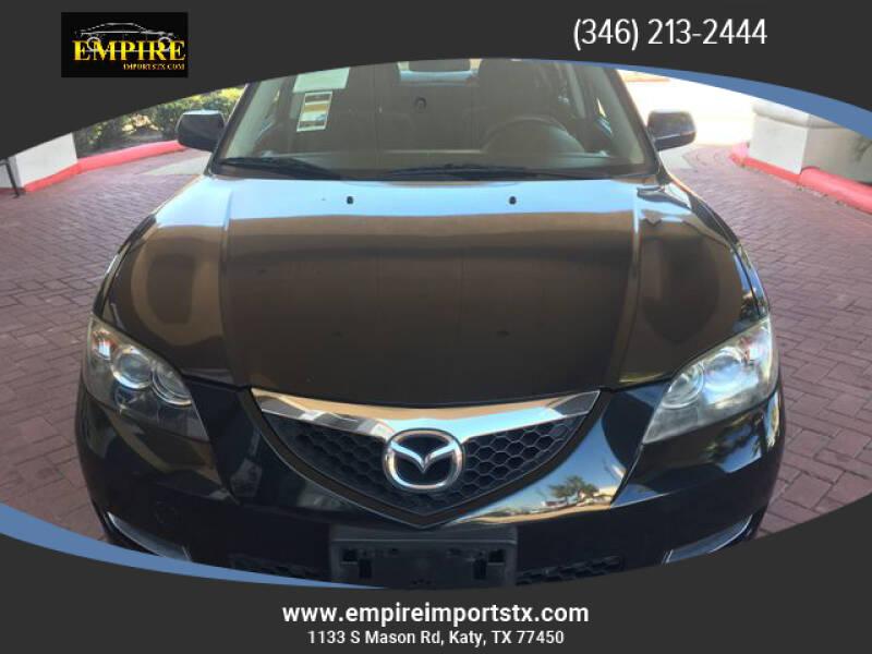 2008 Mazda MAZDA3 for sale at EMPIREIMPORTSTX.COM in Katy TX