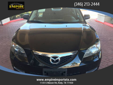 2008 Mazda MAZDA3 for sale at EMPIREIMPORTSTX.COM in Katy TX