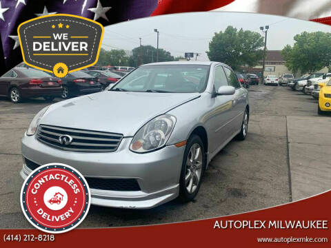 2006 Infiniti G35 for sale at Autoplex 2 in Milwaukee WI