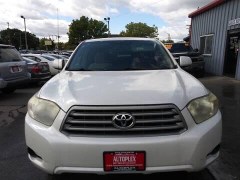 2008 Toyota Highlander for sale at Autoplex 2 in Milwaukee WI