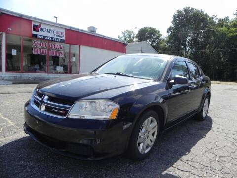 2012 Dodge Avenger for sale at Quality Auto Today in Kalamazoo MI